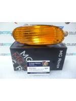 MGF GENUINE NEW O/S/F RIGHT AMBER INDICATOR ASSEMBLY PART NUMBER XBD100641